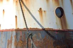 Barco de pesca en Dinamarca Imagenes de archivo