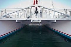 Barco de pesca grande Fotografia de Stock