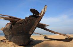 Barco de pesca, la India. Foto de archivo libre de regalías