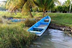 Barco de pesca mexicano Imagen de archivo libre de regalías