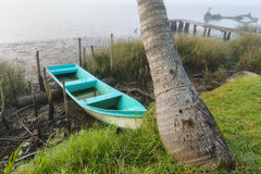 Barco de pesca mexicano imagens de stock royalty free
