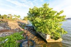Barco de pesca mexicano imagem de stock royalty free