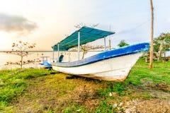 Barco de pesca mexicano foto de stock royalty free