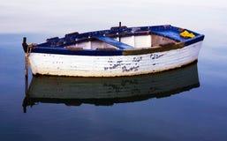 Barco de pesca na Croácia Fotos de Stock