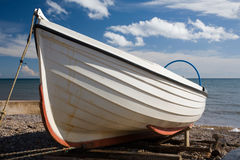 Barco de pesca pequeno fotografia de stock