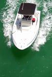 Barco de pesca pequeno do esporte foto de stock royalty free
