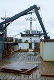 Barco de pesca plataforma-vertical Foto de Stock