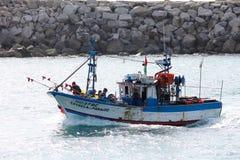 Barco de pesca português Imagem de Stock