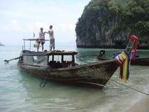 Barco de pesca tailandés Imagen de archivo