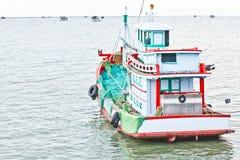 Barco de pesca tailandés Fotos de archivo libres de regalías