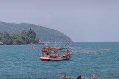 Barco de pesca tailandês Fotografia de Stock Royalty Free