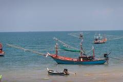 Barco de pesca tailandês Foto de Stock Royalty Free