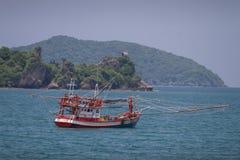 Barco de pesca tailandês Imagem de Stock Royalty Free