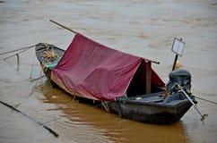 Barco de pesca tailandês de Angthong Imagens de Stock Royalty Free