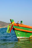 Barco de pesca Tailandia Foto de archivo libre de regalías