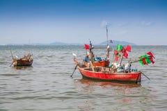 Barco de pesca tradicional Fotografía de archivo libre de regalías