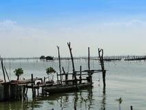 Barco de pesca tradicional en Songkhla imágenes de archivo libres de regalías