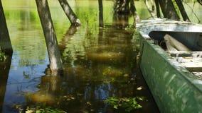 Barco de pesca velho vídeos de arquivo