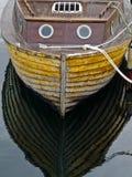 Barco de pesca velho Fotografia de Stock