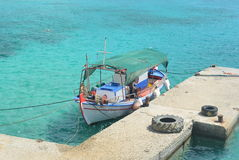 Barco de pesca velho Imagens de Stock Royalty Free