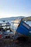 Barco de pesca velho Fotos de Stock Royalty Free