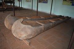 Barco de pesca velho indiano a história dos barcos foto de stock