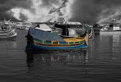 Barco de pesca velho de Malta fotografia de stock royalty free