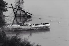 Barco de pesca viejo Imagen de archivo