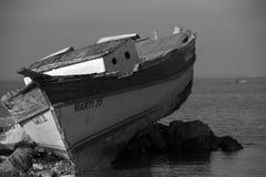 Barco de pesca viejo Fotografía de archivo
