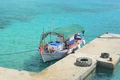Barco de pesca viejo Imágenes de archivo libres de regalías