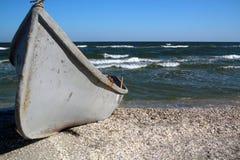Barco de pesca viejo fotos de archivo libres de regalías