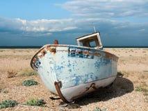 Barco de pesca viejo, Dungeness Fotografía de archivo