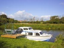Barco de placer Fotografía de archivo libre de regalías