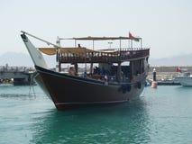 Barco de placer Omán Foto de archivo