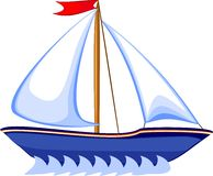 Barco de prazer Fotos de Stock