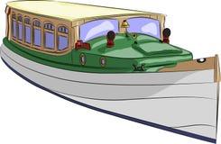 Barco de prazer do vetor Imagens de Stock