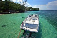 Barco de prazer entrado Foto de Stock Royalty Free