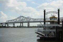 Barco de río Fotografía de archivo libre de regalías