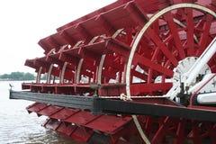 Barco de río Foto de archivo libre de regalías