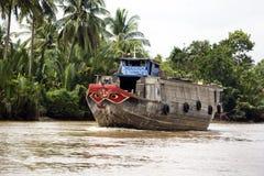 Barco de río de Mekong Imagen de archivo