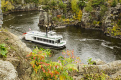 Barco de rio de Paddleboat Imagens de Stock