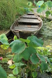 Barco de rio velho Fotos de Stock Royalty Free