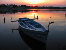 Barco de Rowing 2 Imágenes de archivo libres de regalías
