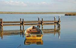 Barco de Rowing Imágenes de archivo libres de regalías