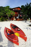 Barco de Rowing Fotos de archivo libres de regalías