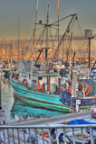 Barco de Tourquoise Foto de archivo