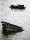 Barco de turista em Praga Imagens de Stock