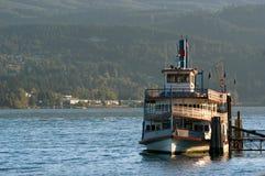 Barco de vapor fotografía de archivo