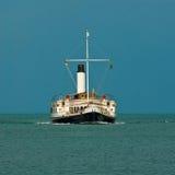 Barco de vapor Foto de archivo libre de regalías