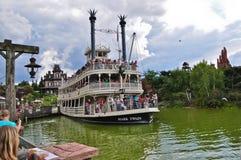 Barco de vapor de Disneylandya Fotografía de archivo libre de regalías